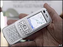 GPS handset